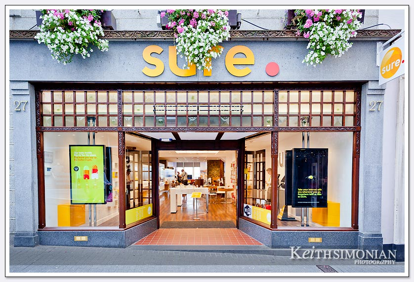 A Sure photo store in Guernsey UK.