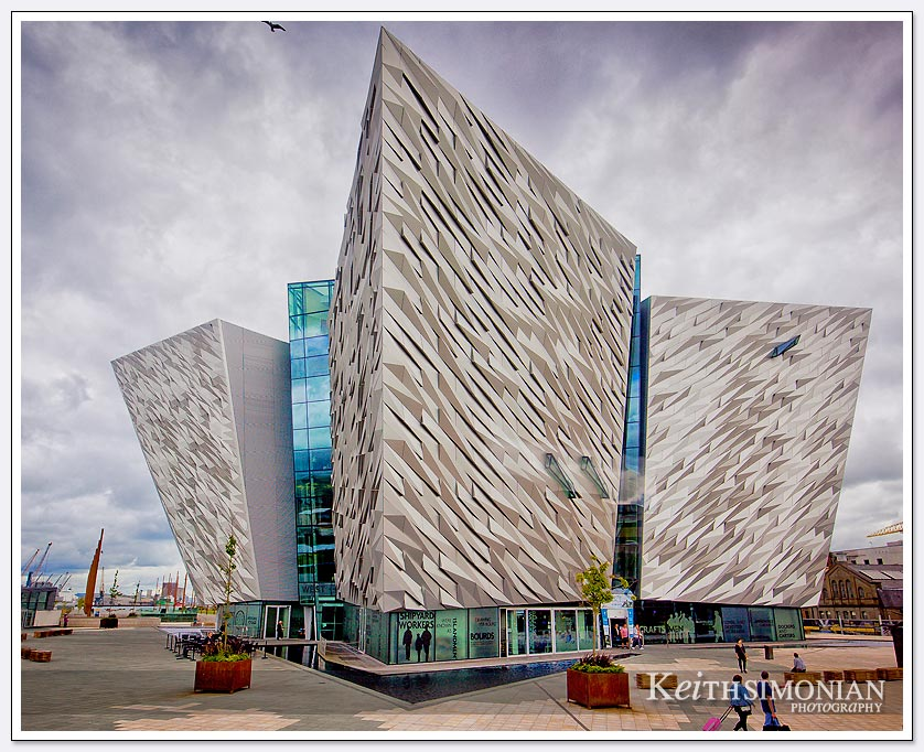 Titanic Museum which opened in 2012 - Belfast Ireland