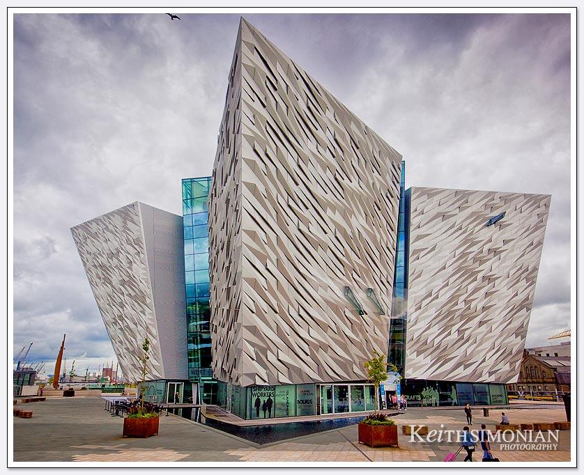 Titanic Museum which opened in 2012 - Belfast Ireland