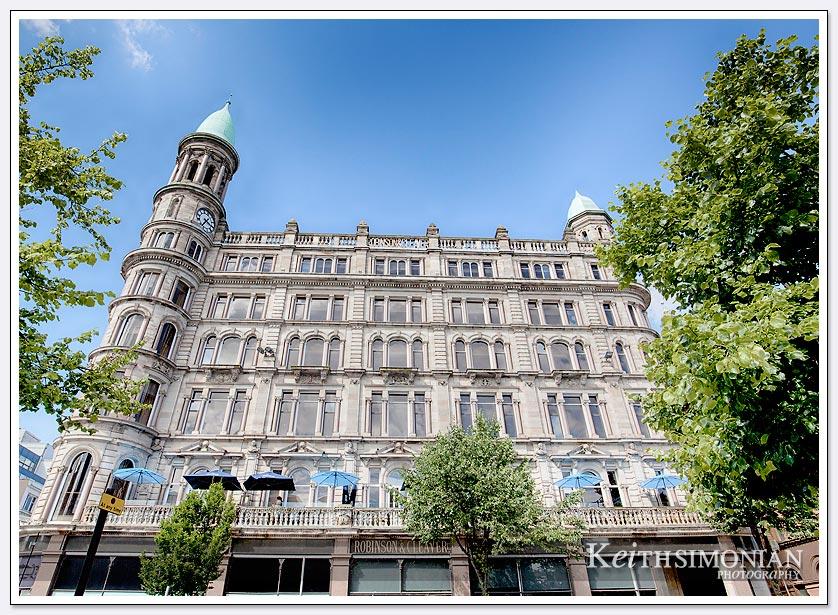 Downtown Belfast Ireland