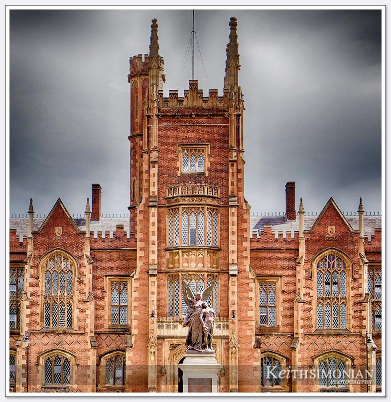The Lanyon Building of Queen's University - Belfast Ireland