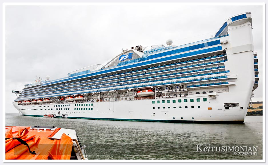 Princess Caribbean cruise ship