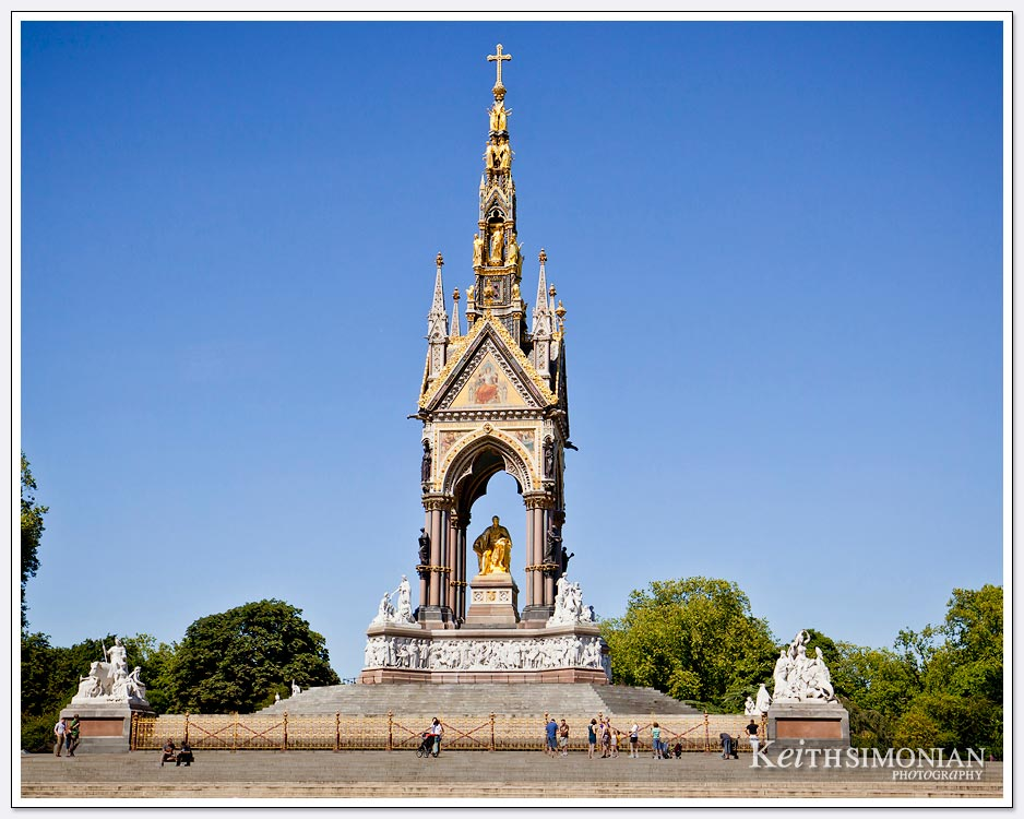 The Albert Memorial - Hyde Park - London