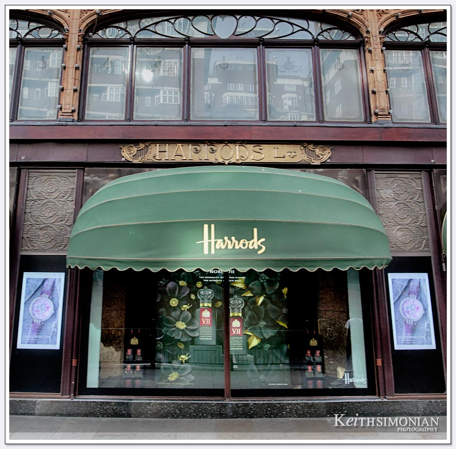 Harrods department store - London England