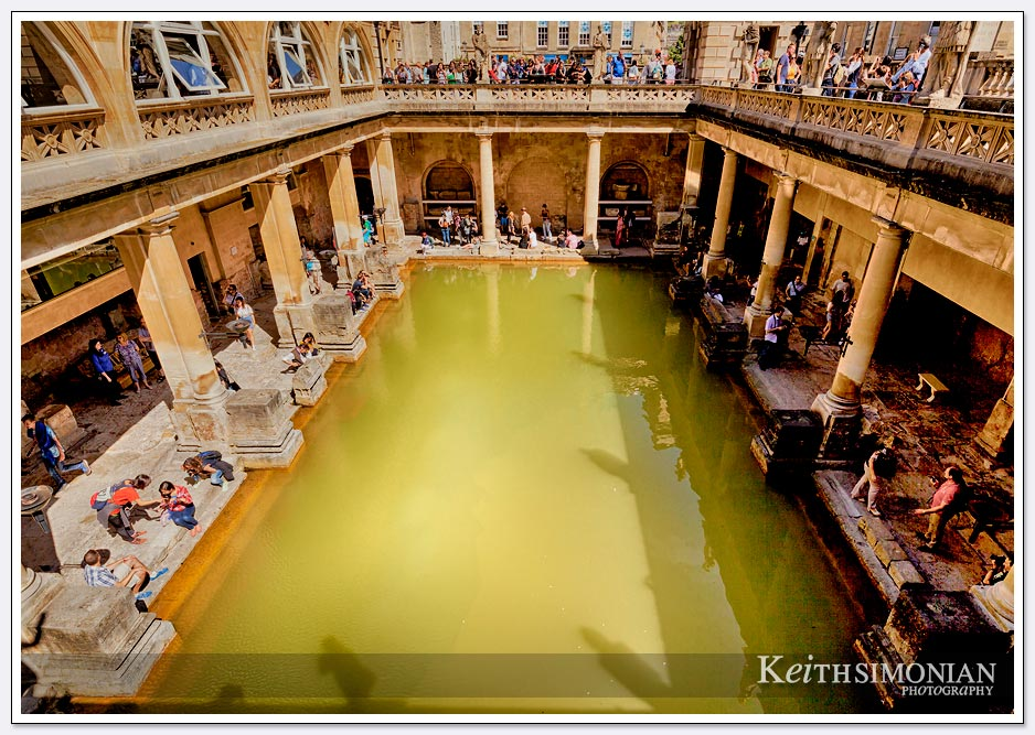 Roman Baths - Bath England