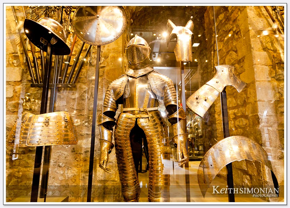 Suit of Armor at the Tower of London in England
