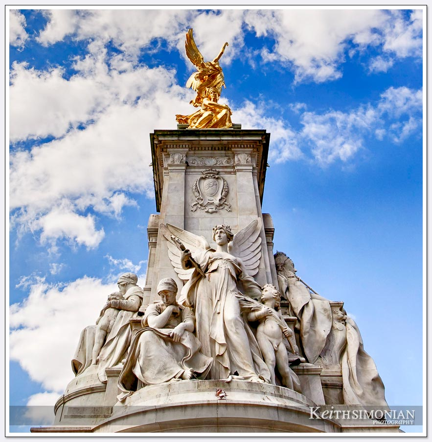 Victoria Memorial by Buckingham Palace - London England