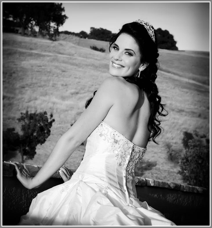 Contact Information Photo - Bride wearing tiara