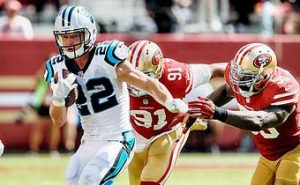 Christian McCraffrey returns to Bay Area with the Carolina Panthers vs 49ers in Opener