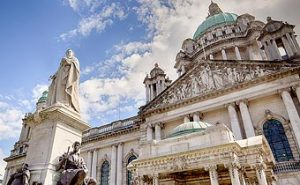 Belfast Ireland - City Hall building