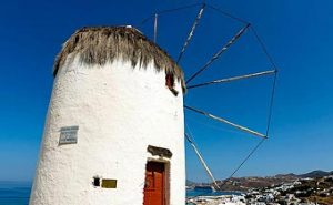 Mykonos Greece - Famous for it's windmills