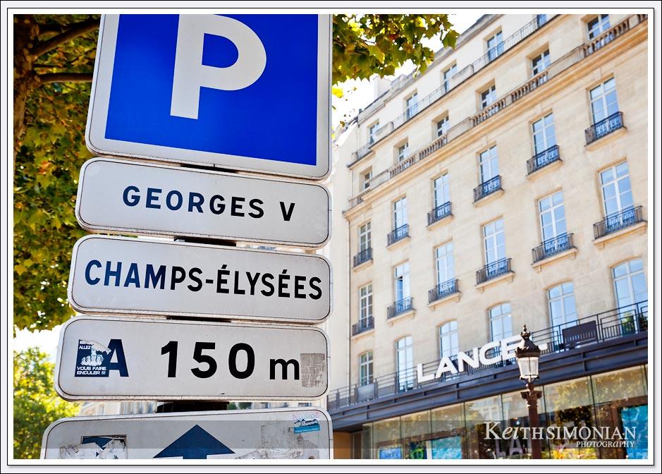 The Avenue des Champs-Élysées - Paris France