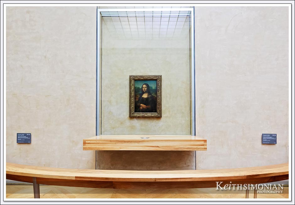 I would imagine the Mona Lisa is the most famous painting in the Louvre - Paris France