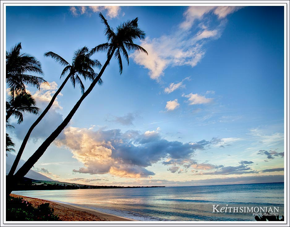 Eye candy - Just another beautiful sunrise on the island of Maui Hawaii