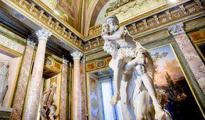 Rome Italy – Mediterranean Summer Cruise – Borghese Gallery – Fontana di Tivoli
