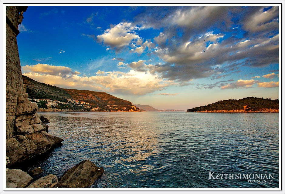 The secret bar just outside the city is a great location to view sunsets - Dubrovnik, Croatia