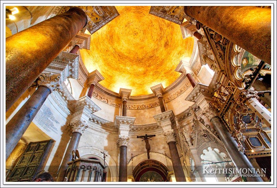 Cathedral of Saint Domnius interior - Split, Croatia