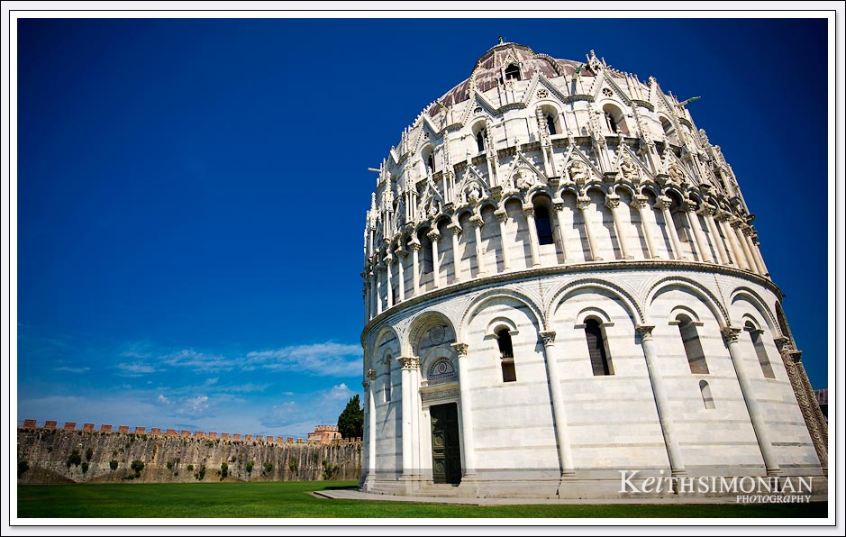 Exterior photo of Pisa Baptistery - Pisa, Italy