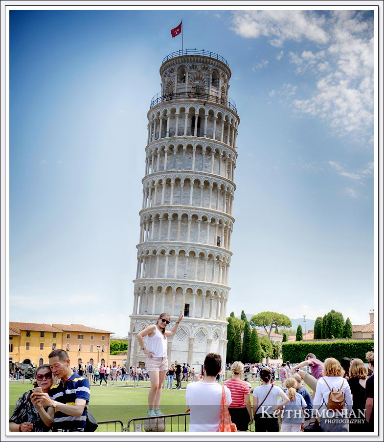 The most unoriginal photo of the leaning tower of Pisa