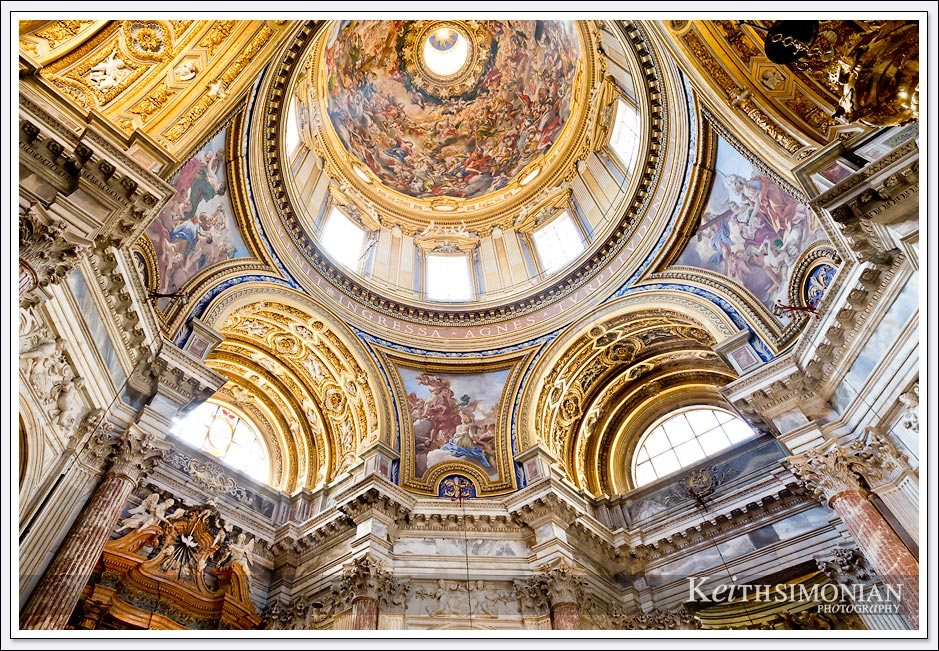Chiesa di Sant'Agnese in Agone Church - 1672 - Rome, Italy