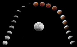 Total lunar eclipse and rare super blood wolf moon tomorrow night
