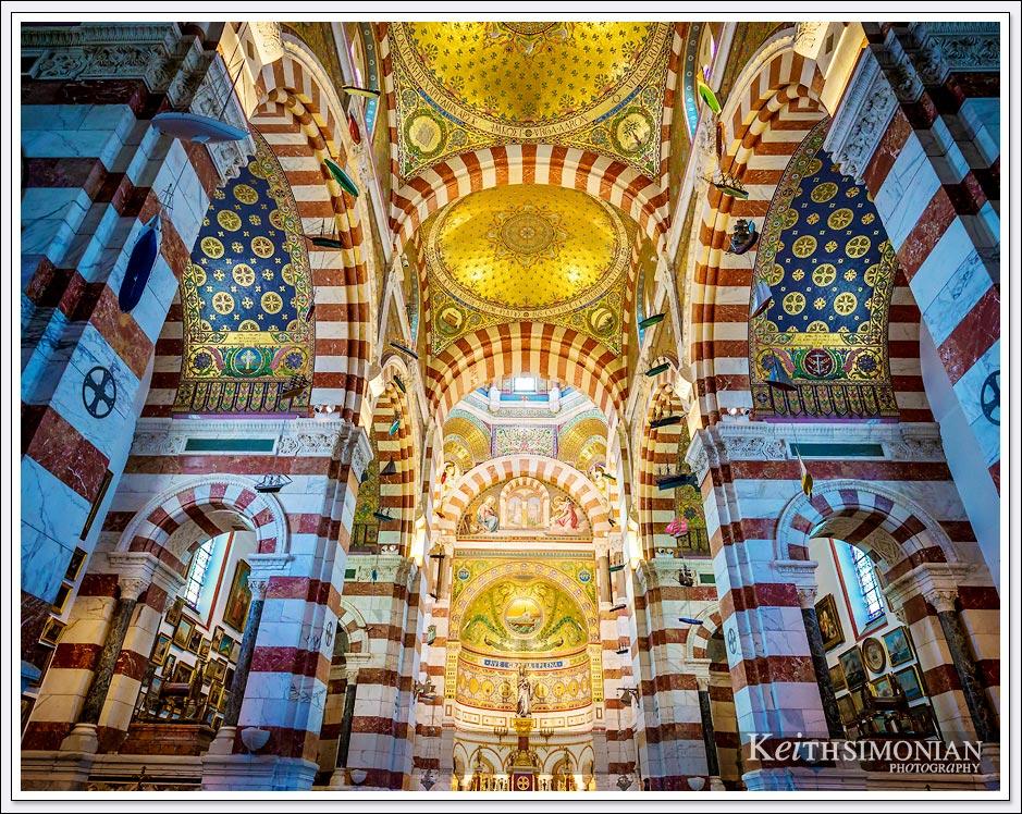 Basilique Notre-Dame de la Garde, Marseille France
