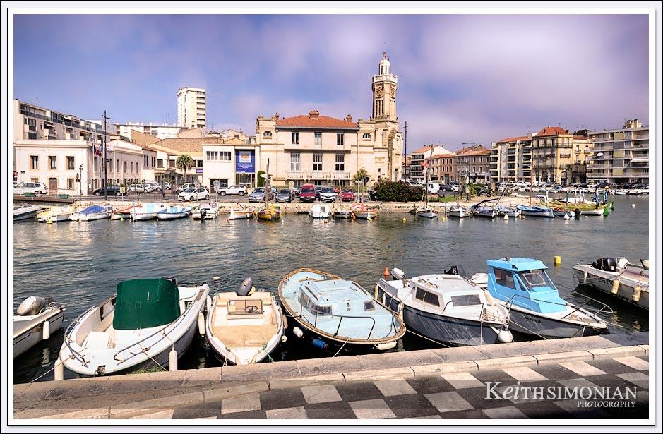 Waterways of Seta, France