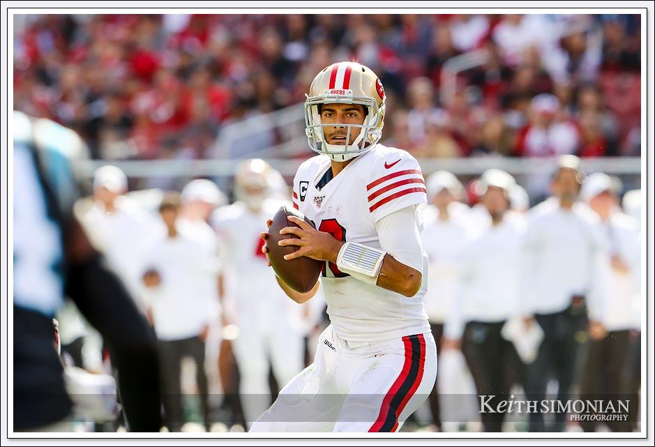 San Francisco 49er quarterback Jimmy Garoppolo