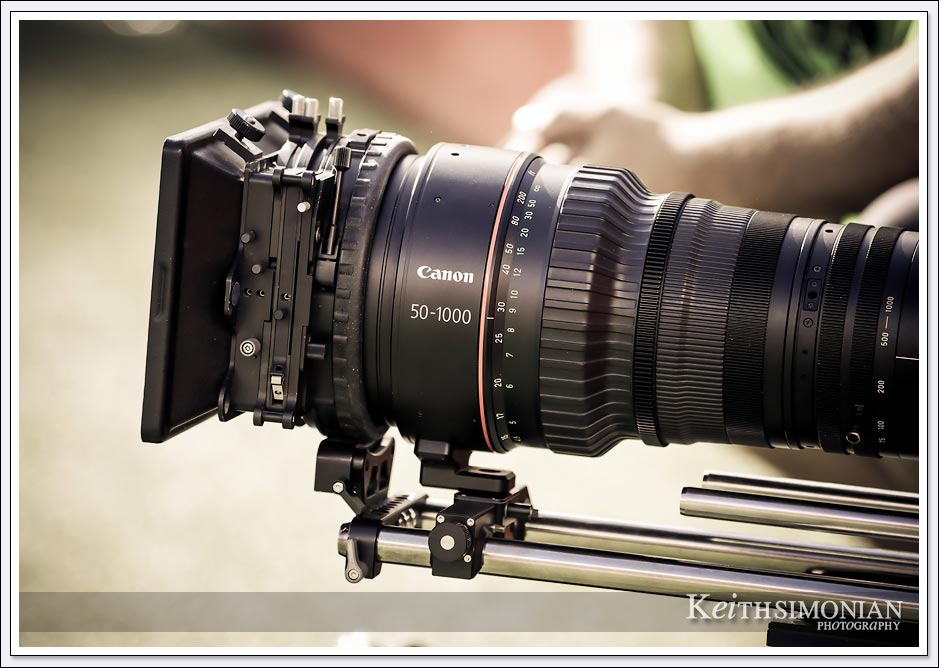 Canon 50 - 1000 mm zoom lens for video