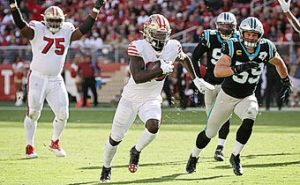 Canon 90D NFL Action Review Part 2 – San Francisco 49ers stay undefeated at 7-0