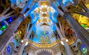 Barcelona Spain – La Sagrada Familia – Cathedral of Barcelona – Parc Guëll