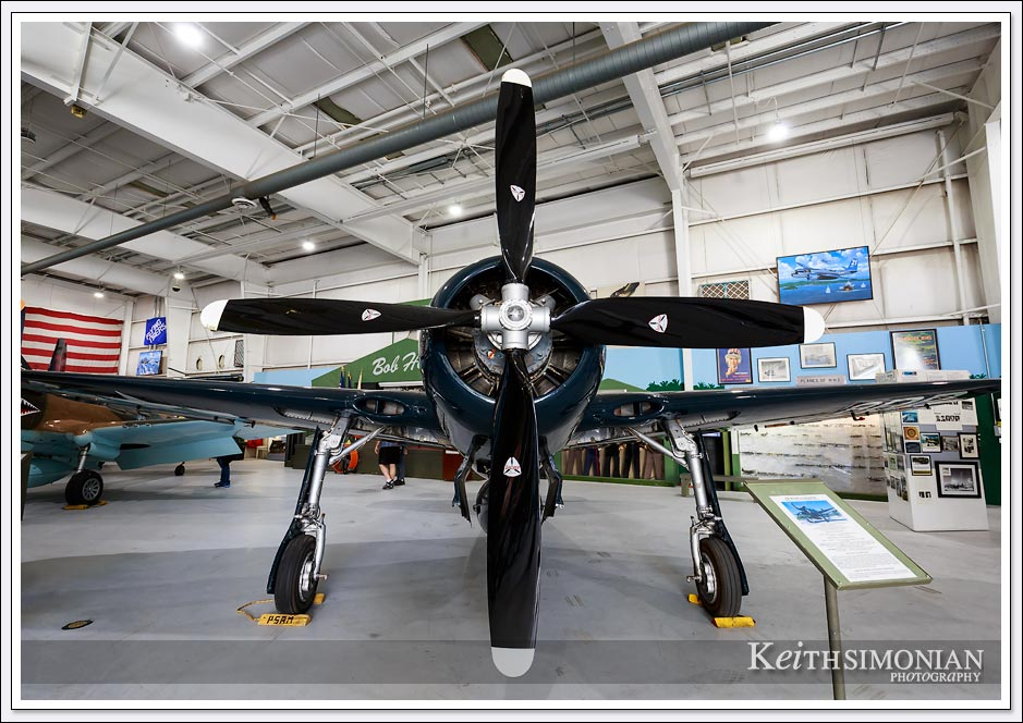 Propellers of Grumann F8F Bearcat