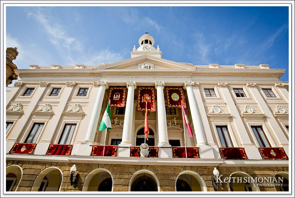 Cadiz Spain - Town hall.