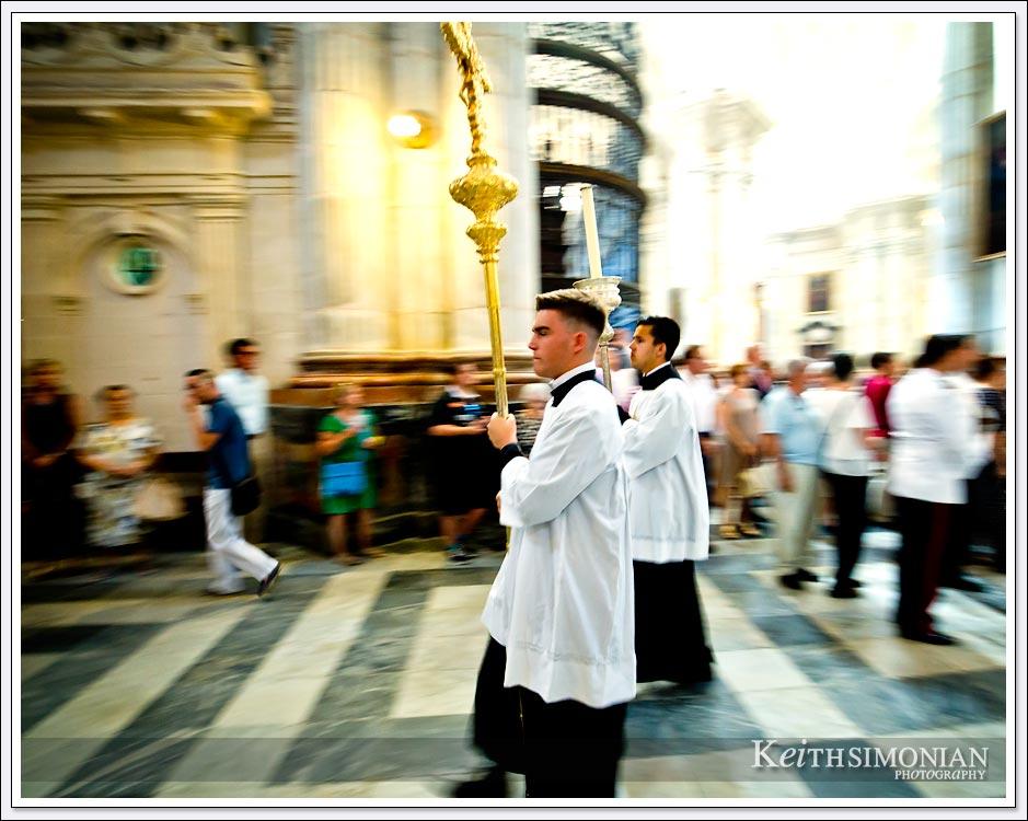 Corpus Christi Festival in Cadiz Spain