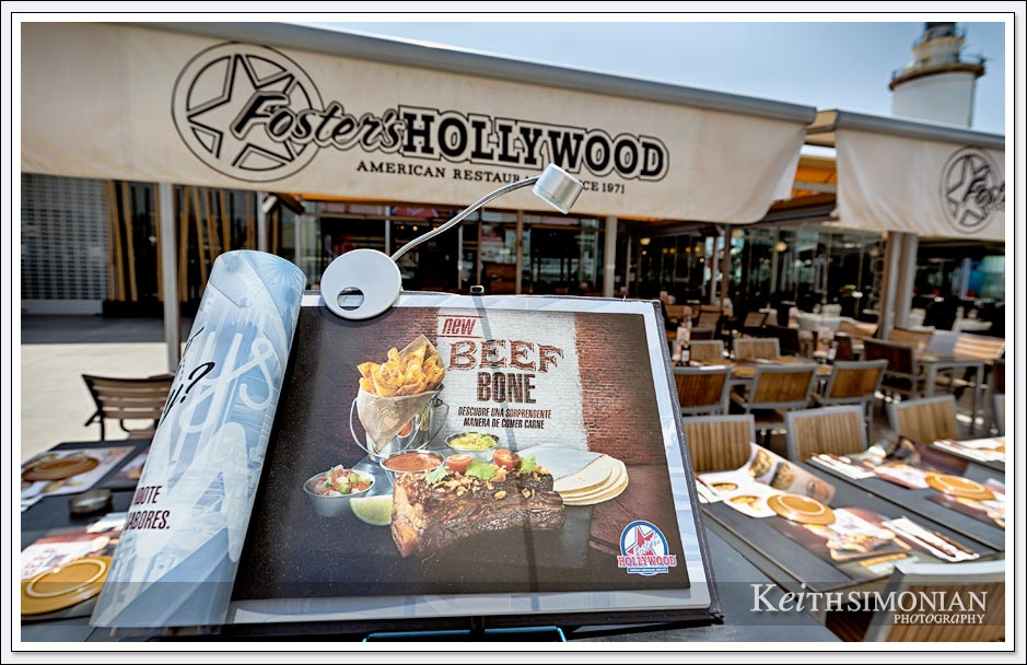 Foster's Hollywood restaurant in Málaga Spain