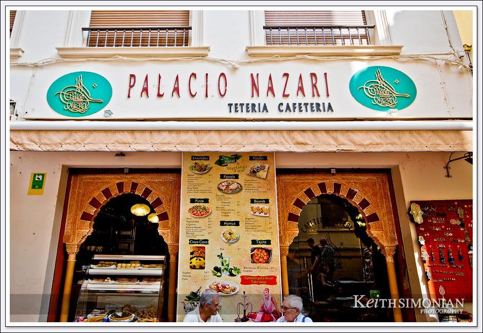Palacio Nazari in Malaga Spain.