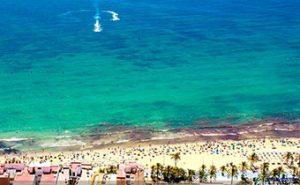 Alicante Spain – Santa Bárbara Castle – Playa del Postiguet