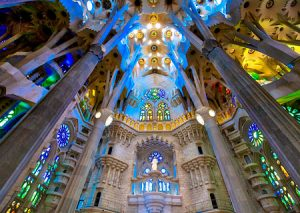La Sagrada Familia Basilica - Barcelona Spain