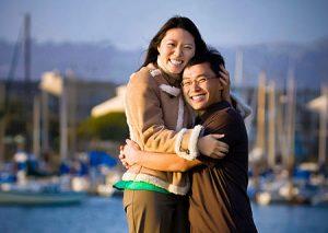 The Berkeley Marina offers many interesting backdrops of the East Bay area.