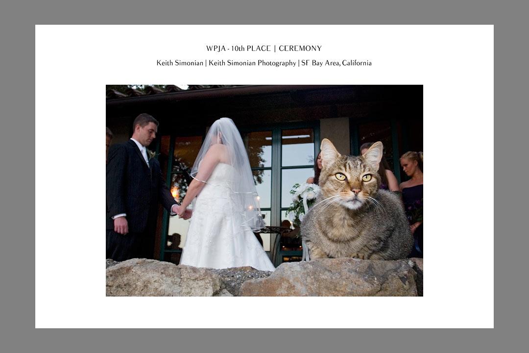 WPJA Wedding Photojournalist Association Contest - 10th place - Ceremony - Keith Simonian Photography