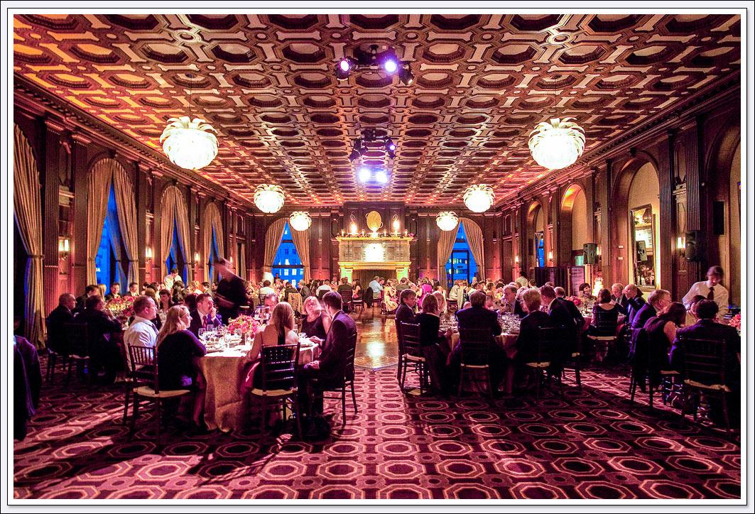Have your wedding reception at the Julia Morgan ballroom in the heart of San Francisco, California