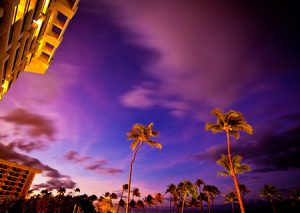 The early riser gets the wonderful Maui morning sky photo.