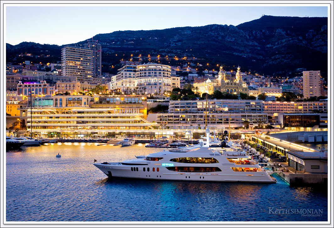 Port Hercules which serves as the home of the Monaco Yacht Club is a spot where the rich and famous come to park their boats to be seen.