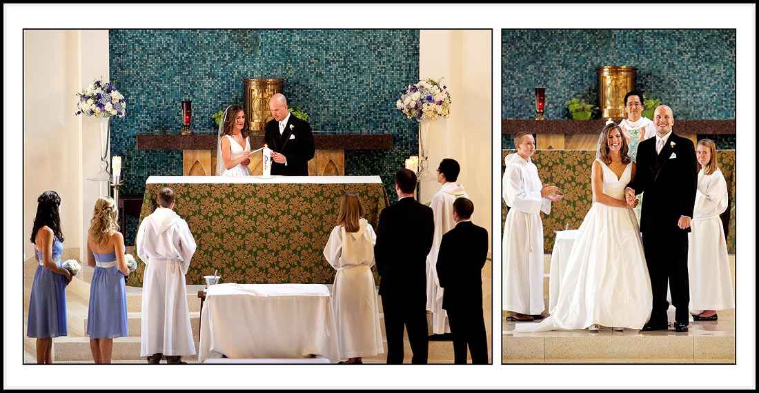 Lighting of the Candles during Wedding Ceremony - Newport Beach Wedding Ceremony.