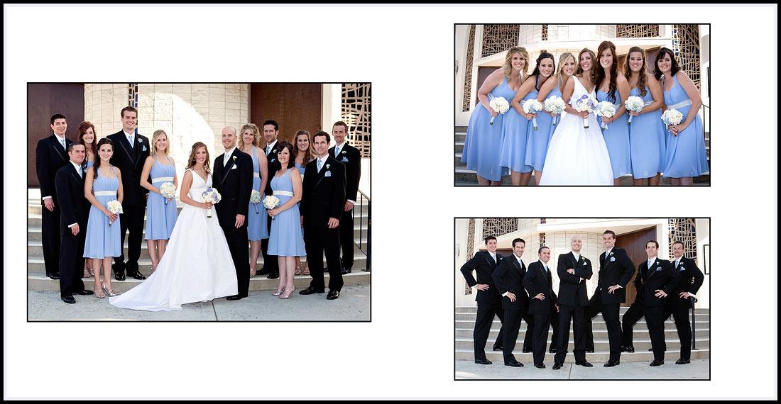 Bridal Party Wedding Photographer - Our Lady Queen of Angels Catholic Church 2046 Mar Vista Dr Newport Beach, CA 92660