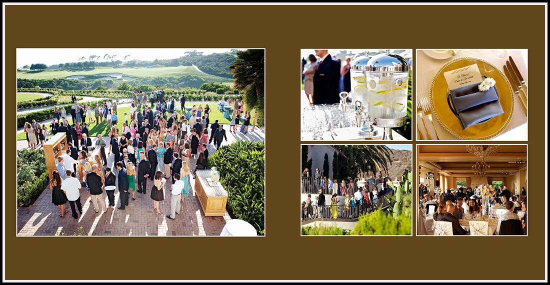 Event Lawn Wedding reception Pelican Hill Resort - Newport Coast, California