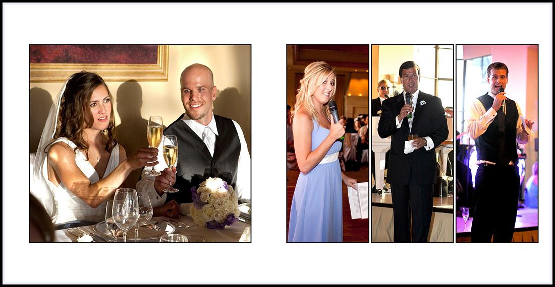 Wedding toast and speeches - Pelican Hill Resort