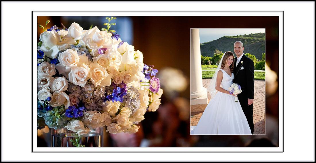 Flower table decorations - The Resort At Pelican Hill 22701 S Pelican Hill Rd Newport Coast, CA 92657
