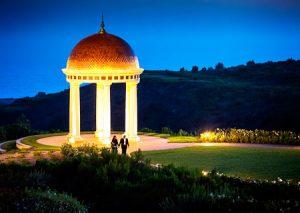 Nighttime view of Pelican Hill Resort