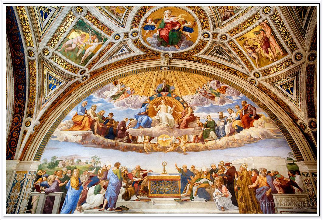 Vatican museum - Rome Italy - Raphael Rooms